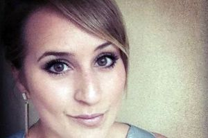 Sophie Spencer, 24, suffered fatal injuries when her Peugeot 206 ploughed into a tree in Alderley Edge, Cheshire on Monday