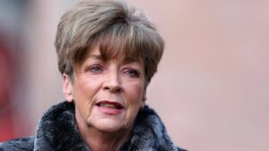 Coronation Street actress, Anne Kirkbride