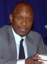 Martin Joseph, former national security minister, Trinidad & Tobago died