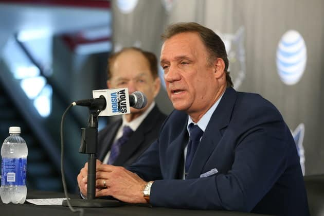 Flip Saunders Who Died Today was Timberwolves Head Coach 16