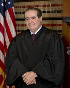 Associate Supreme Court Justice Antonin Scalia