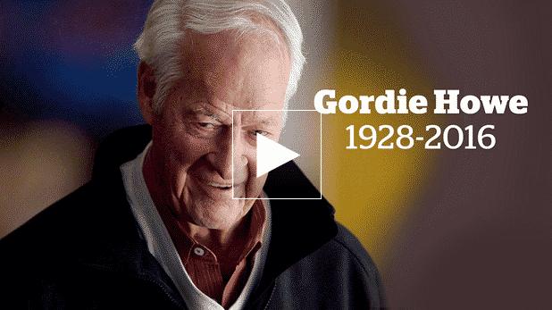 Gordie Howe dies at 88