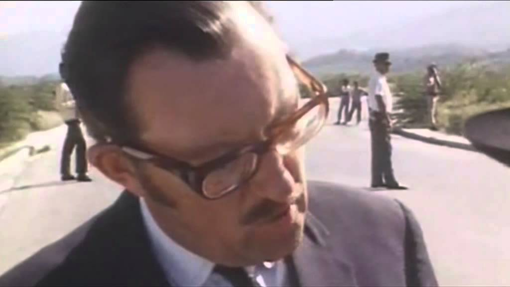 ITV News report on death of Alan Whicker who died today 12th July 2013 26