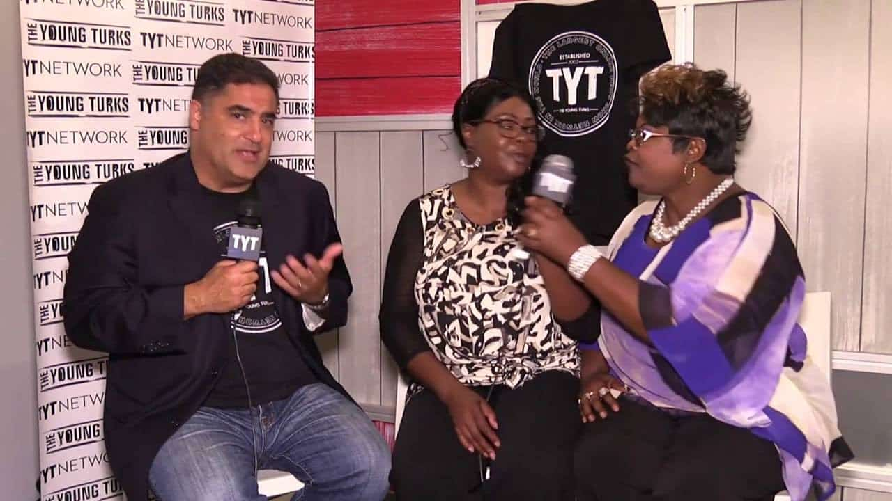 Diamond And Silk Interview With Cenk Uygur At 2016 RNC 11