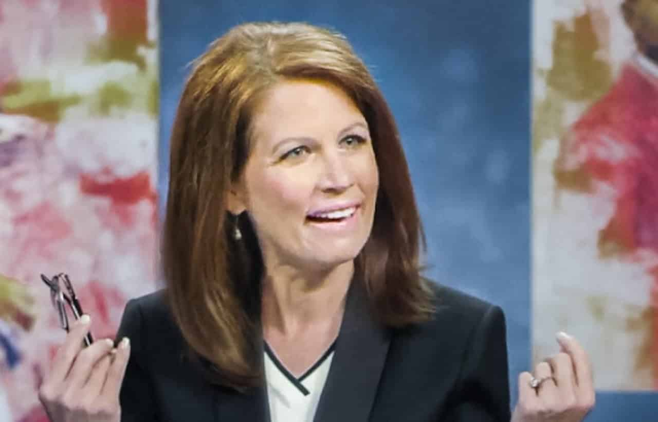 Bachman Desperately Tries Selling Trump To Evangelicals 9