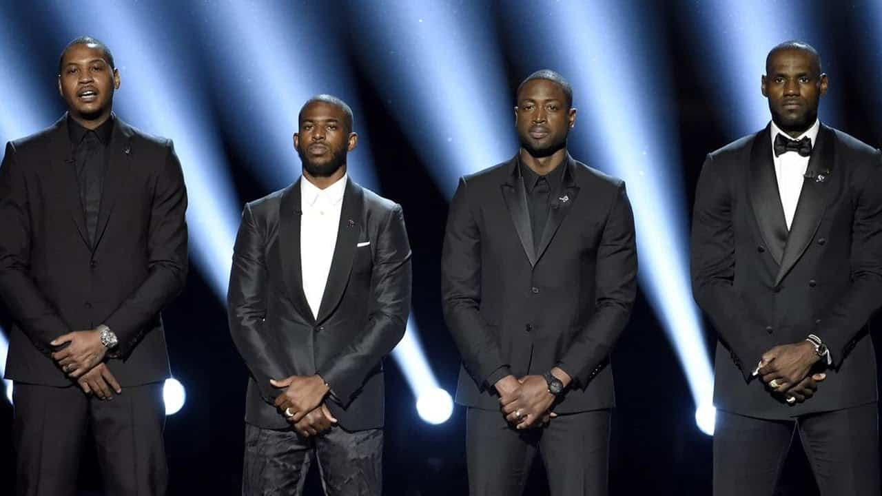 NBA Stars Make Powerful Speech On Race At ESPYs (VIDEO) 5