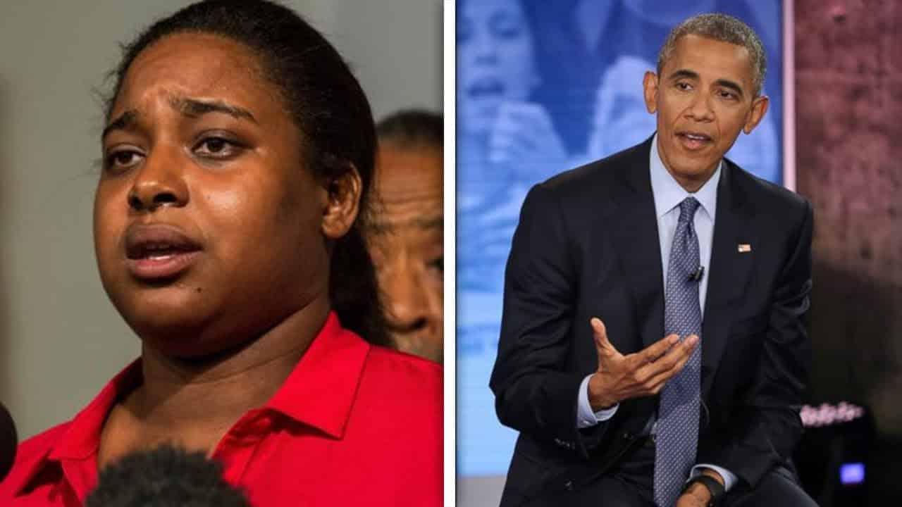 "Eric Garner's Daughter Felt ""Railroaded"" During Obama Town Hall 14"
