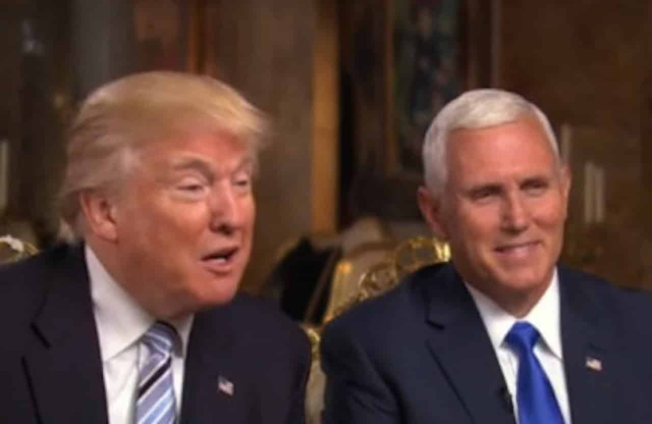 Trump: Pence's Iraq War Vote Fine, Hillary's BAD! 13