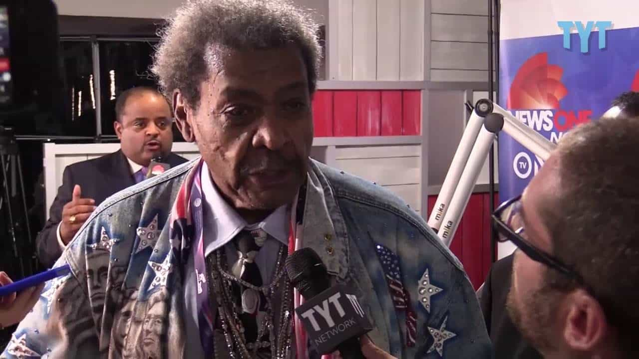 Don King's Verbal Diarrhea In Defense Of Donald Trump 33