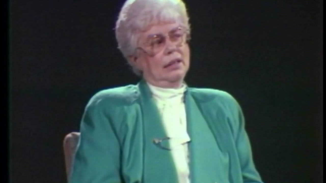 Former Saint John Mayor, Elsie Wayne, Cable TV interview circa 1981 57