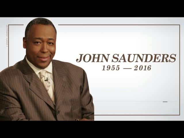 Gottlieb: John Saunders passes away 27