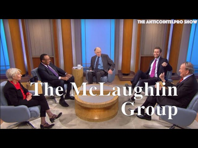 John McLaughlin dead at 89, hosted 'The McLaughlin Group' since 1982 1