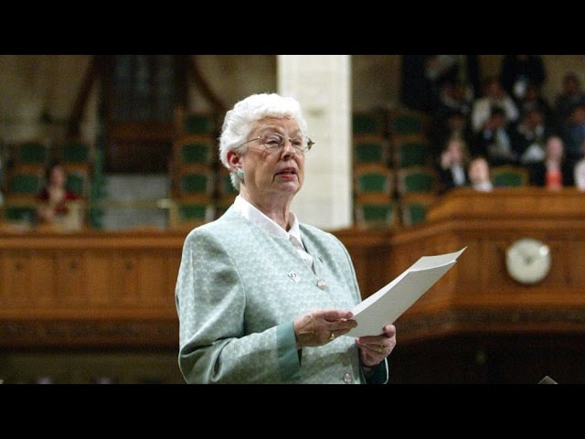 'Practical politician:' Former N.B. MP Elsie Wayne dead 18