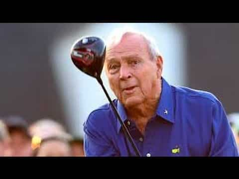 Golf great Arnold Palmer dies aged 87 24