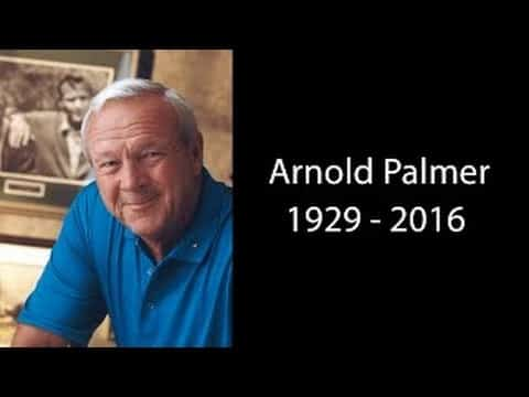 Arnold Palmer Dead At Age 87! Arnold Palmer Tribute Video 21