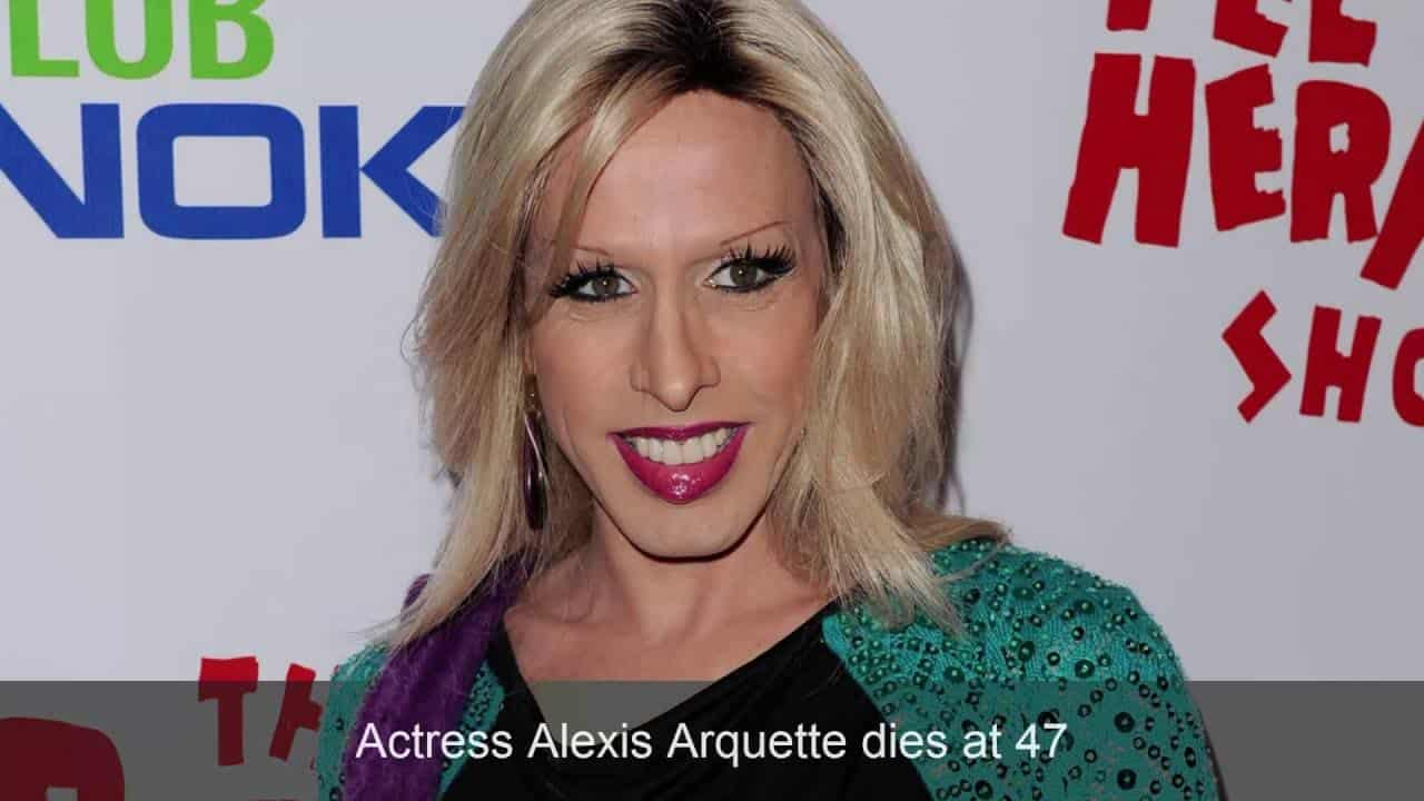 Actress Alexis Arquette dies at 47 7