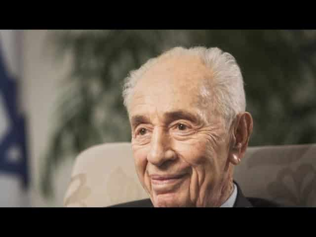 "Shimon Peres hailed as ""a soldier for Israel"" 34"
