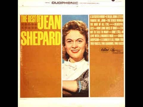 Jean Shepard - **TRIBUTE** - I've Got To Talk To Mary (1961). 7