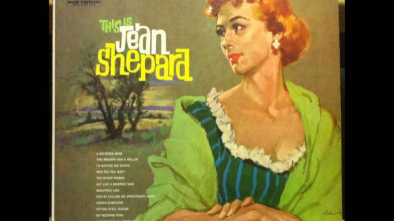 Jean Shepard - **TRIBUTE** - The Other Woman (1956). 5