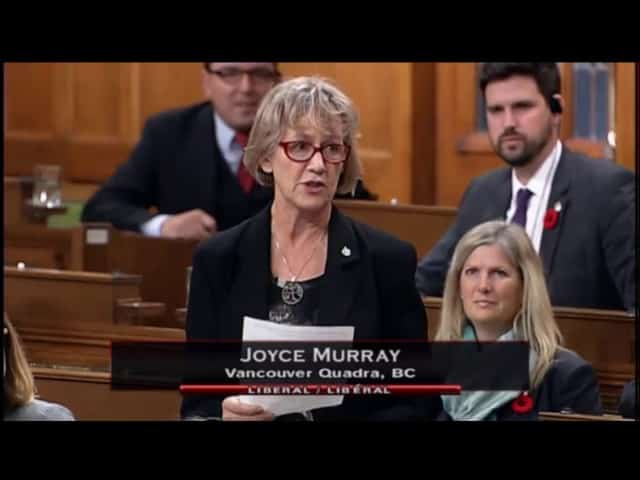 MP Joyce Murray, Statement on Jim Prentice 16