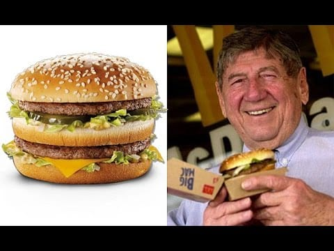 RIP - The man who created the Big Mac dies aged 98 30