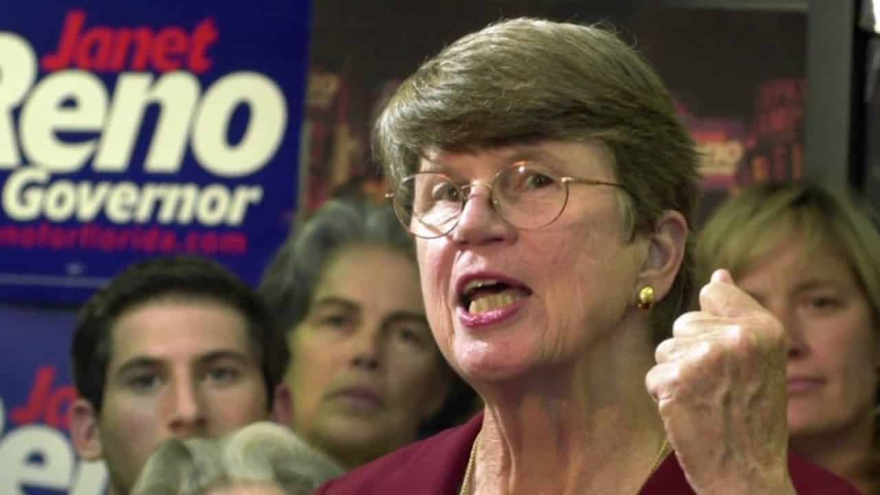 NOW Janet Reno, former US attorney general, has died 1