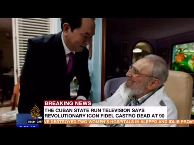 People of Miami celebrate Fidel Castro's death 3