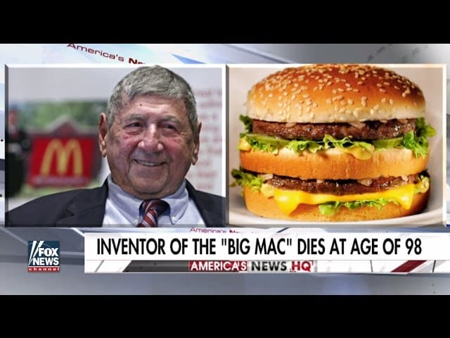 Creator of the Big Mac dies at age of 98 6