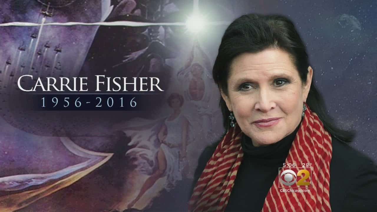 Star Wars Actress, Carrie Fisher, Dies At Age 60 3