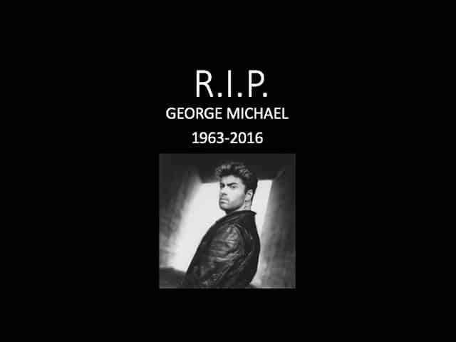 BREAKING NEWS: Singer George Michael Has Died At Age 53 59