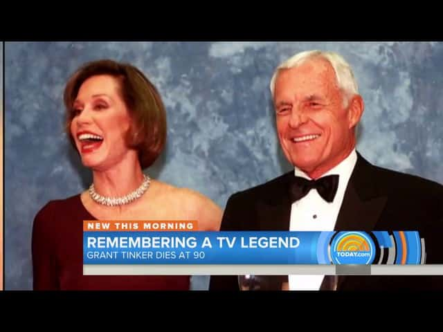 Grant Tinker former CEO of NBC dies at age 90 16