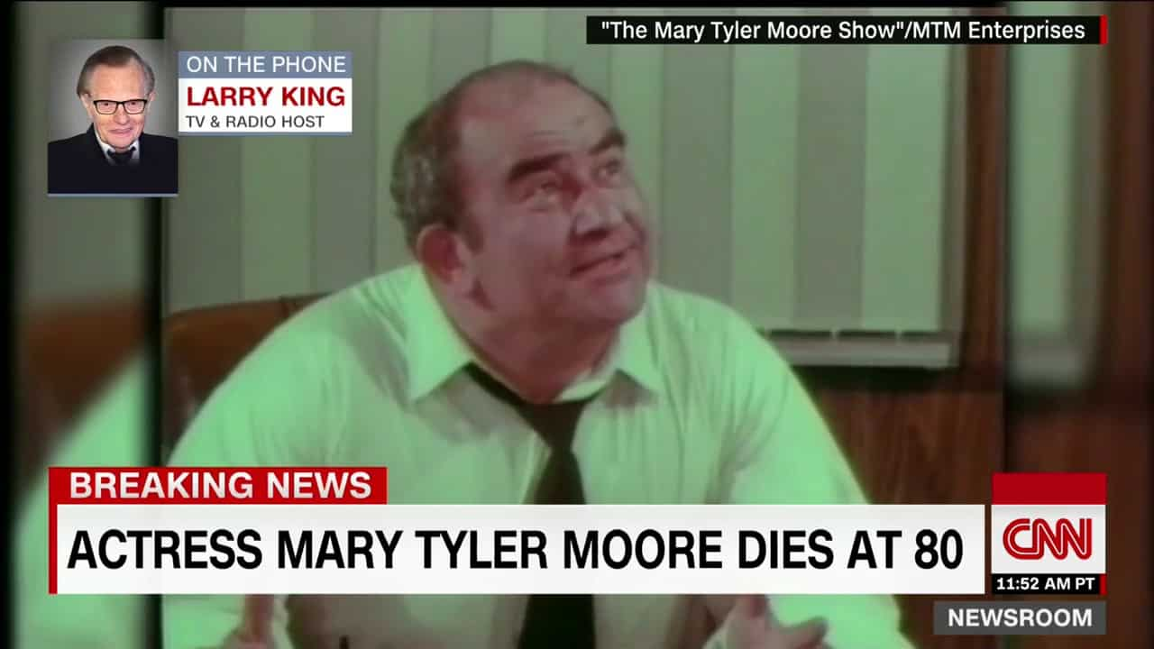 Larry King׃ Mary Tyler Moore was a pioneer 17