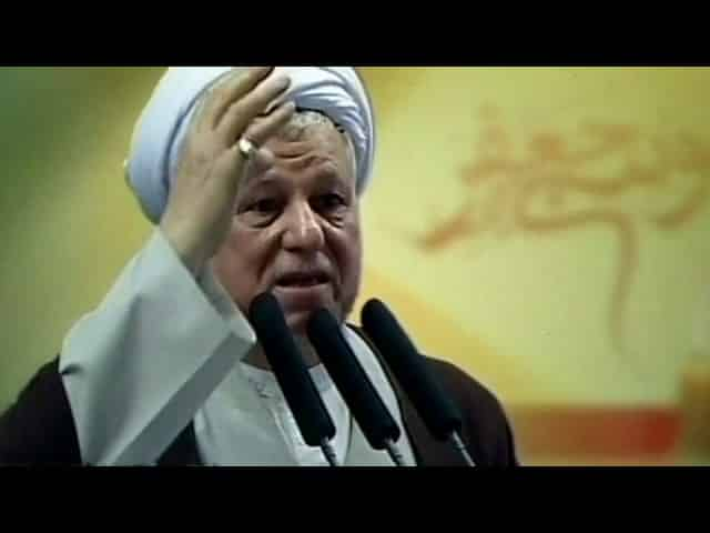 Ex-President Rafsanjani a 'most influential figure' in Iran 26
