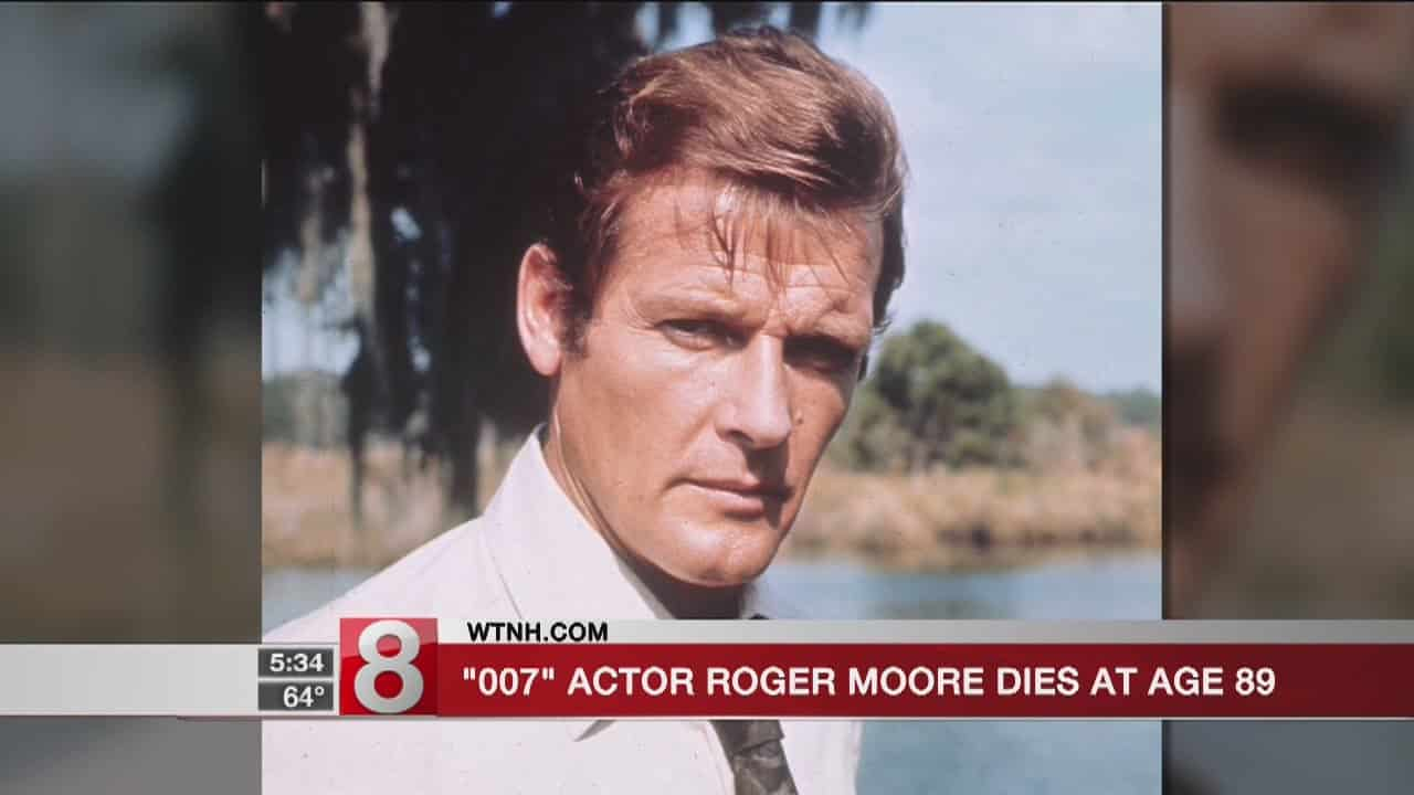 '007' actor Roger Moore dies at 89 3