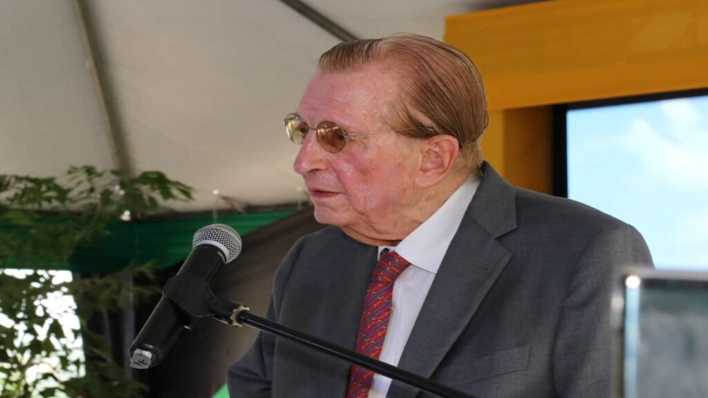 Before entering politics, Edward Seaga was a major record producer