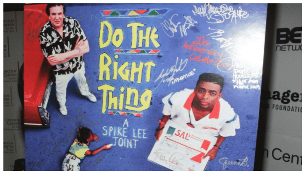 Do The Right Thing actor Paul Benjamin Spike Lee