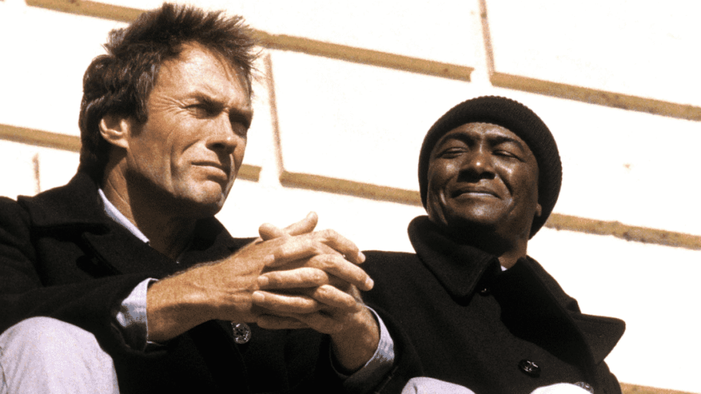 Do The Right Thing actor Paul Benjamin with Clint Eastwood