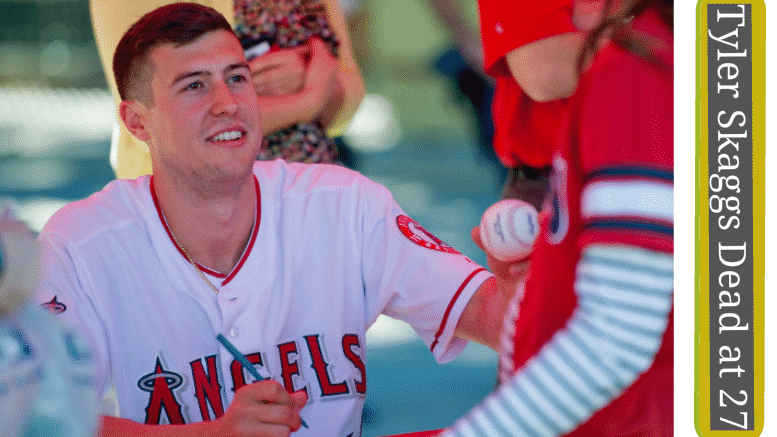 Tyler Skaggs Dead at 27 years old