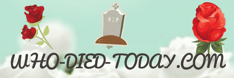 Who died today where you can post condolences