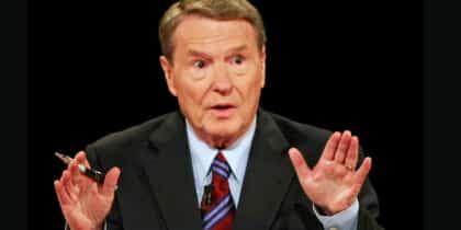 Jim Lehrer BPS newsman dead at 85