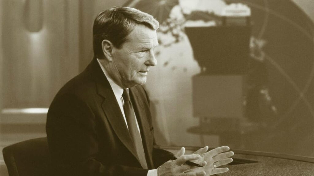 Jim Lehrer television veteran