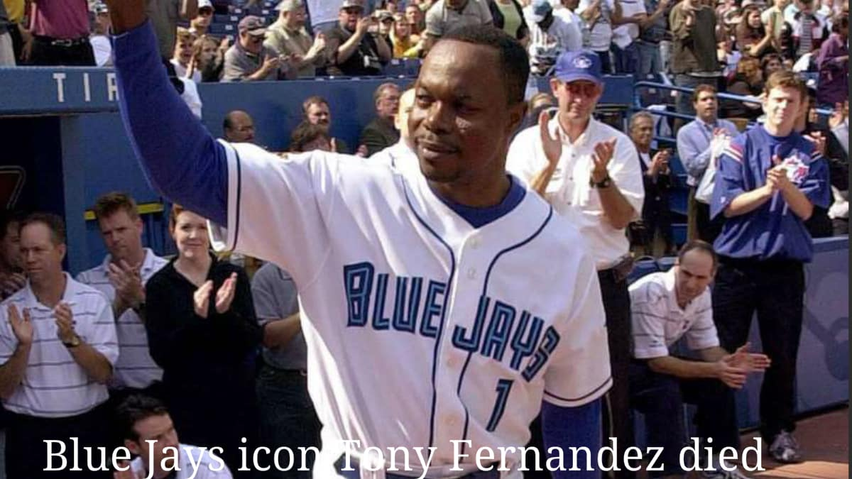 Blue Jays icon Tony Fernandez is died at 57