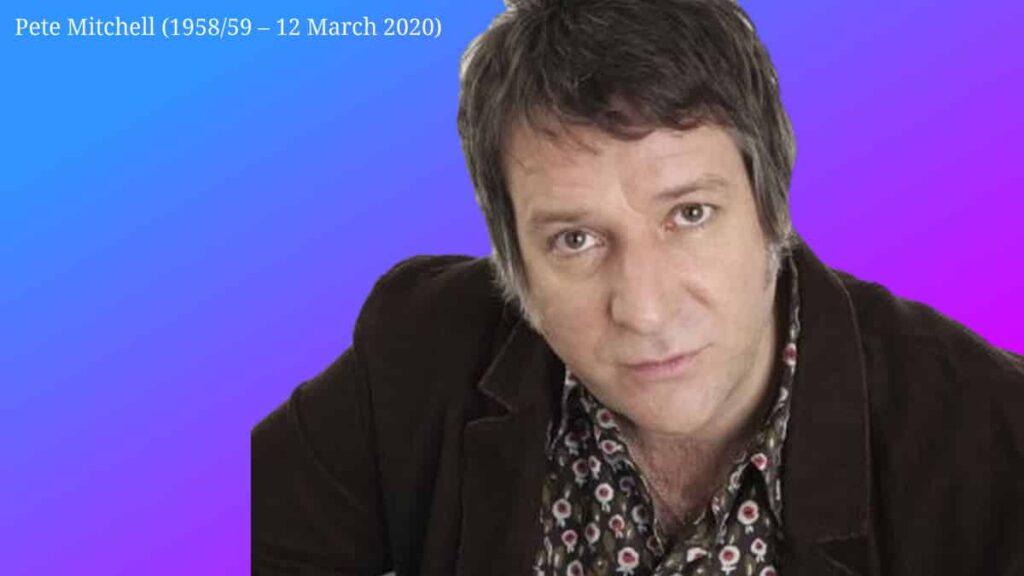 Dead at 61 is Pete Mitchel the Virgin Radio Presenter and former BBC Radio presenter