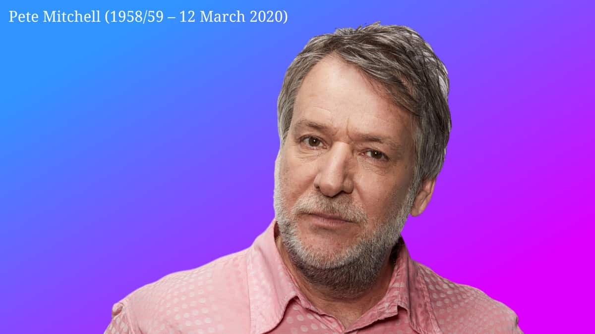 Dead at 61 is Pete Mitchel the Virgin Radio Presenter