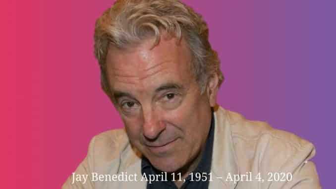 Actor Jay Benedict, of Aliens,' 'The Dark Knight Rises' died at 68 from coronavirus