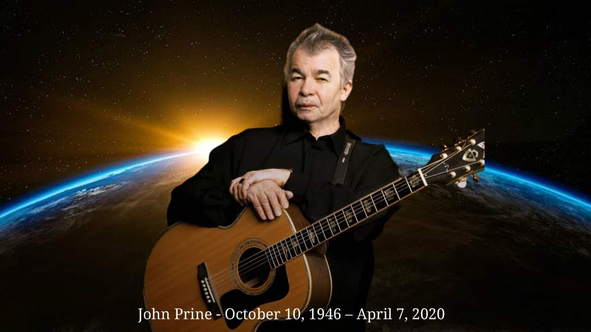 Hohn Prine the American country folk singer-songwriter is dead at 73