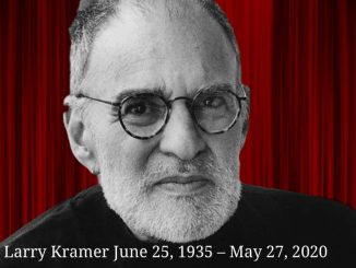 Larry Kramer influential AIDS activist dead at 84 1