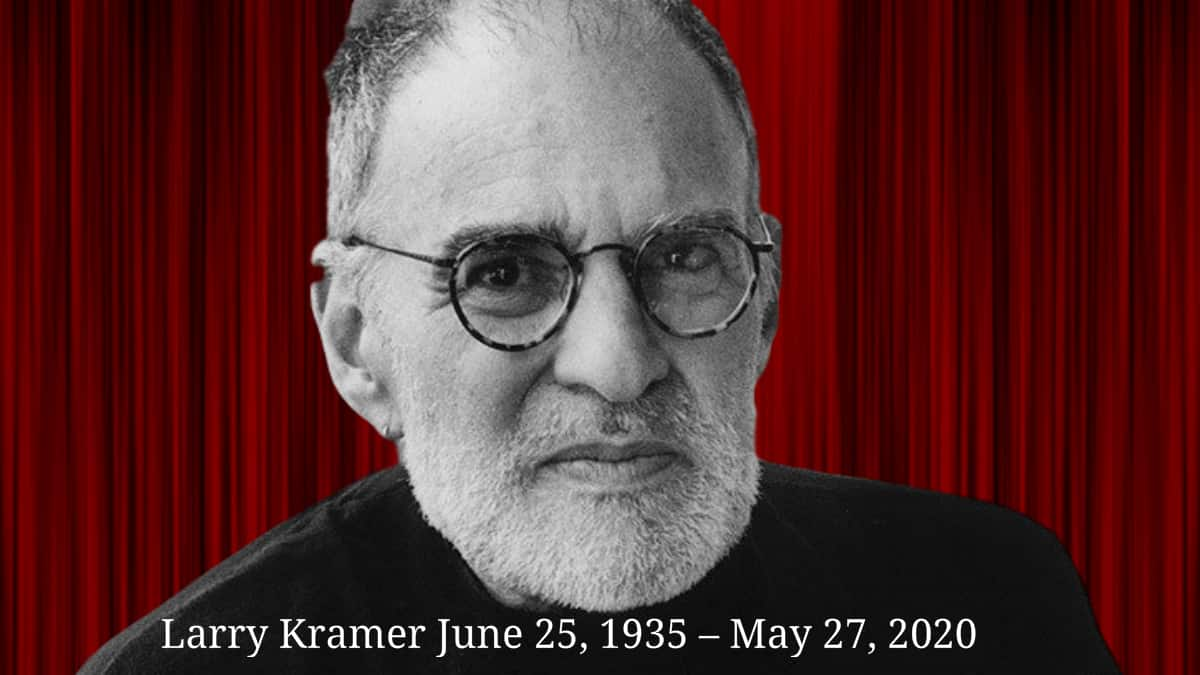 Larry Kramer influential AIDS activist dead at 84 1