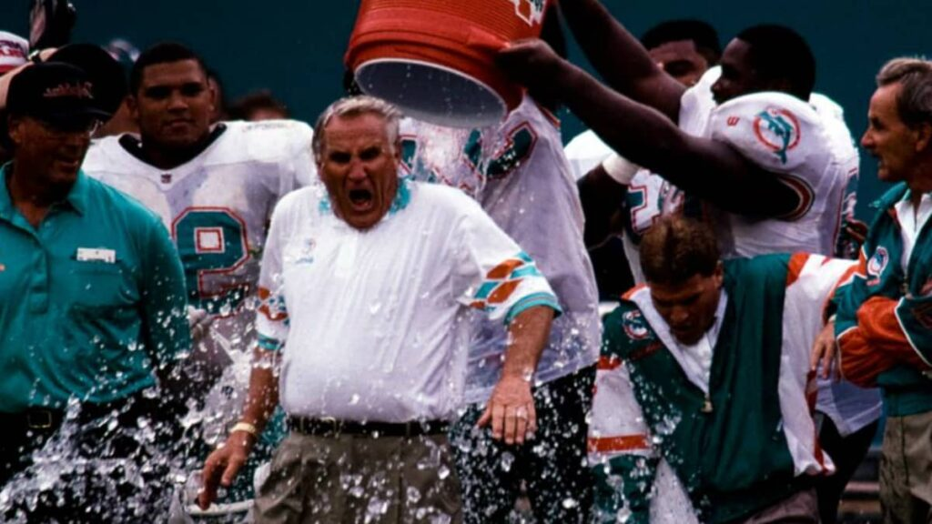 Don Shula the NFL veteran coach