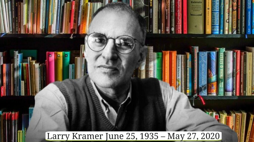Kramer died Wednesday of pneumonia 27 May 2020